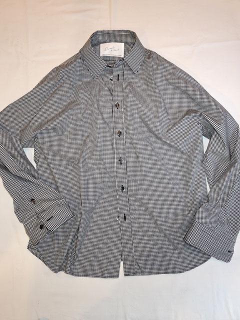 Dessin de Mode デッサン ド モード OVER SIZE SHIRT オーバーサイズシャツ GINGHAM