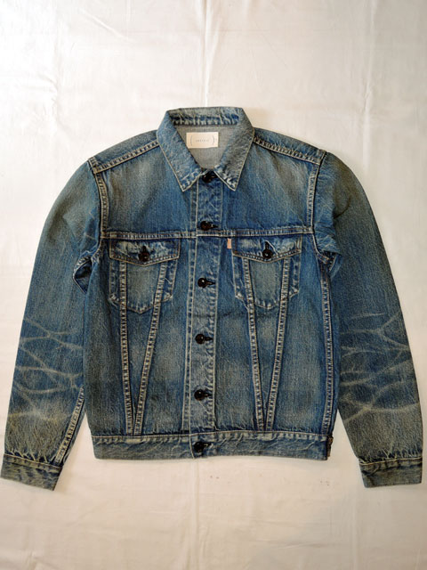 """cantate (カンタータ) 18SSCA089 Trucker Jacket Inspired by """"On the Road"""" INDOGO"""