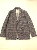 COOHEM (コーヘン) 20-202-007 BLAZER TWEED JACKET / ニットツィードジャケット