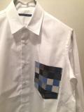 SHIRT/Stealth Wealth SHIRT ステルスウェルス シャツ Style:Brownie・S  コットン ホワイトシャツ