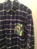 SHIRT/Stealth Wealth SHIRT ステルスウェルスシャツ Style:Sonny・LLサイズ  ボタンダウンシャツ コットンネルチェック
