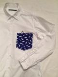 SHIRT/Stealth Wealth SHIRT ステルスウェルス シャツ Style:Brownie・M   『Blue Nile』  ウォッシュド コットンポプリン シャツ