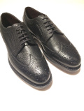 JALAN SRIWIJAYA ( ジャランスリワヤ) 98652 BLACK GRAIN Wingtip Shoes  ウィングチップ グレインレザー