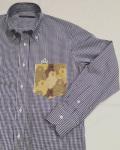 SHIRT/Stealth Wealth SHIRT ステルスウェルスシャツ Style:Evans・Mサイズ  『Alice In Wonderland , Take2』 / ギンガムチェック ロールダウンカラーシャツ