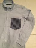 Stealth Wealth SHIRT ステルスウェルス シャツ Style:Sonny・Sサイズ  オックスフォード ボタンダウンシャツ