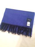 ドレイクス (Drake's) 「Semi Reversible Scarf」 ALLAA/19761 リバーシブルマフラー *Blue