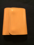 LAST CROPS (ラストクロップス) CASCADE 三つ折り財布  NATURAL/ナチュラル  Buttero Leather