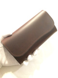 LAST CROPS (ラストクロップス) ANCHOR L 三つ折り長財布 MAREMMA(マレンマ) CHOCO/チョコ・ダークブラウン
