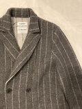 COOHEM (コーヘン)  20-204-026 BOILED WOOL KNIT JACKET/縮絨ウール ニットジャケット
