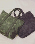 BENSIMON (ベンシモン) / Sport Camouflage Tote Bag カモフラージュ ナイロントート