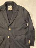 COOHEM (コーヘン) 13-212-001 BLAZER TECH TWEED JACKET SOLID /ポリエステルツィード ブレザージャケット