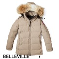 "カナダ グース (CANADA GOOSE) WOMEN'S 2301JL BELLEVILLE - TAN DOWN JACKET""ベルビル"""