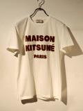 MAISON KITSUNE メゾンキツネ TEE SHIRT MAISON KITSUNE HAIR PRINT ヘア プリント【通販】