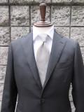RING JACKET(リングヂャケット) AW WOOL ブラックスーツ 三つ釦段返りスーツ :BLACK:
