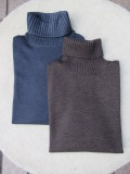 Cruciani (クルチアーニ)  AW 27Gauge ×9Gauge Wool タートルネック CU2707