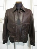 OPIFIX (オピフィックス) A2 (RODEO) リバーシブルレザーブルゾン (M313)BROWN