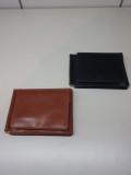 GLENROYAL (グレンロイヤル) 03-6164 マネークリップ 【GLENROYAL MONEY CLIP WITH COIN POCKET  (フルブライドルレザー)】DARK BLUE/OXFORD TAN
