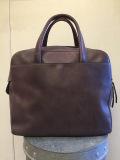 Maison Martin Margiela マルタンマルジェラ ブリーフケースタイプレザーハンドバッグ
