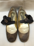 MIHARAYASUHIRO(ミハラヤスヒロ) Deerskin Ballet Shoes with Ribbons リボン付き鹿革バレエシューズ 【通販】