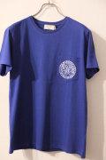 メゾンキツネ (MAISON KITSUNE)R NECK TEE SHIRT PLANE X ANDRE ×アンドレ ポケットTシャツ