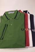 FRED PERRY フレッドペリー M2 1964 SINGLE TIPPED POLO SHIRTS ポロシャツ 【different通販】