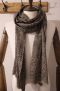 denis colomb デニスコロン ISE scarf *CAPPUCCINO YAK × SILK スカーフ  【different通販】