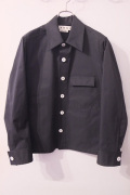 MARNI (マルニ)  Technical poplin cotton polyester Sports Jacket ブルゾン・コート *BLACK   【different通販】