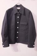 MARNI (マルニ)  Technical poplin cotton polyester Sports Jacket ブルゾン・コート *BLACK   【different通販】
