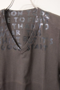 """Maison Martin Margiela マルタンマルジェラ """"デッドストック"""" AIDS Tshirt 2012AW エイズTシャツ 【different通販】"""