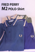 FRED PERRY フレッドペリー M2 Reissues SINGLE TIPPED POLO SHIRTS ポロシャツ 【different通販】
