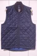 FRED PERRY × LAVENHAM フレッドペリー×ラベンハム Tweed Lavenham Waistcoat  ツィード キルティングベスト  【different通販】