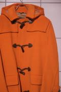 GRENFELL グレンフェル SHERRINGHAM Duffle Coat *ORANGE ダッフルコート ウール100% フード取り外し 【different通販】