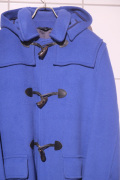 GRENFELL グレンフェル SHERRINGHAM Duffle Coat *BLUE ダッフルコート ウール100% フード取り外し 【different通販】