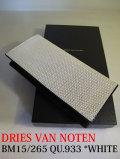 DRIES VAN NOTEN ドリスヴァンノッテン BM15/265 QU.933 *WHITE  長財布 【different通販】