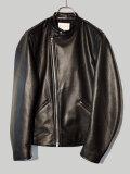 STILL BY HAND スティルバイハンド LE01203 レザー シングルライダースジャケット BLACK