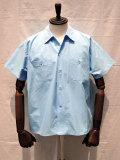 TUKI (ツキ) 0089 BLOUSES 半袖シャツ 36/SAX BLUE