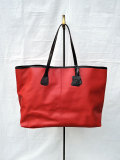 TUSTING タスティング Bythorn Tote バイソントート 【RED】 Handmade in England
