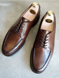 CROCKETT&JONES (クロケット&ジョーンズ) MORETON RIDGEWAY SOLE DARK BROWN Uチップ