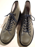 REPRODUCTION OF FOUND (リプロダクション・オブ・ファウンド) 【メンズ】 CZECHOSLOVAKIA MILITARY BOOTS モンキーブーツ GRAY