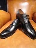 CHEANEY (チーニー)外羽根プレーントゥ【HECTOR 2】ヘクター 2 125/E BLACK