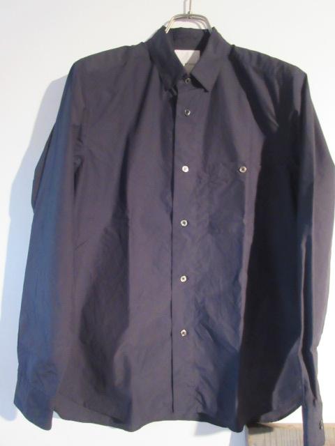 STILL BY HAND スティルバイハンド Broad Cotton Snap B.D Shirts SH0781 ネイビー