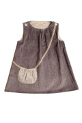 Like Mummy dress(mouse grey)