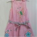 コーデュロイ・ワンピース(Pink/Butterfly )