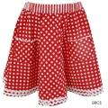 レッド・サークル・スカート(Circle Skirt)