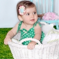 Pippy- Shirred Playsuit(Green)