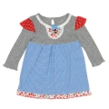 Kitty - Sky Jersey Dress