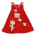 Applique Aline dress, Tulip