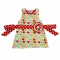 signiture rosette dress, Apple pop