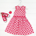 Millicent Classic Apple Dress