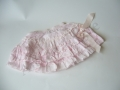 Pale Pink ruffle skirt w/ bow